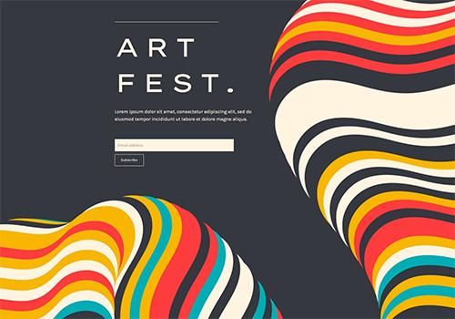 Art Fest theme
