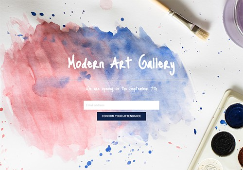 Art Gallery theme