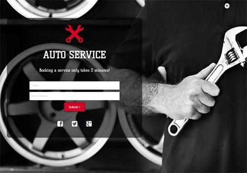 Auto Service theme