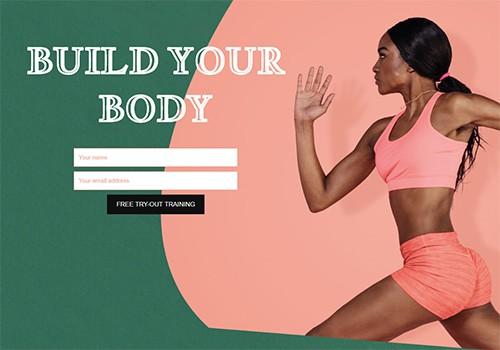 Body Transformation theme