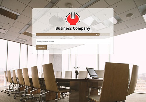 Business Company theme
