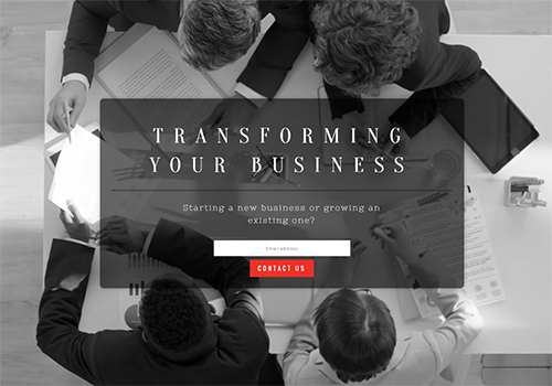 Business Consulting (Video) theme