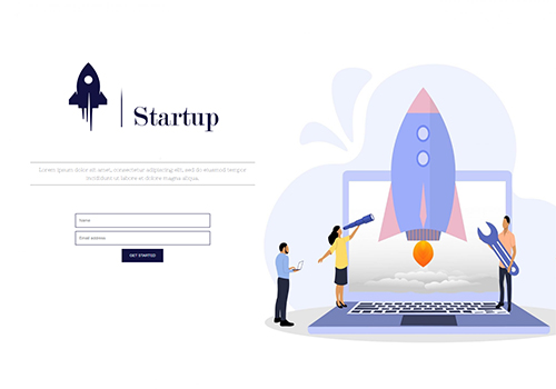 Business Launch theme