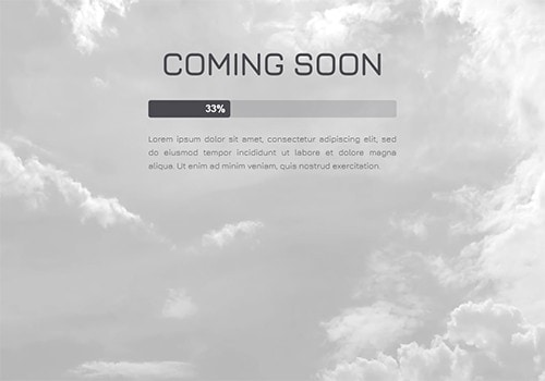 Clouds Screensaver (Video) theme