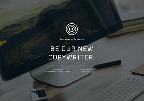 Copywriter theme