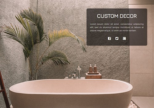 Custom Decor theme