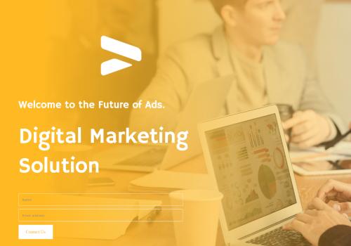 Digital Marketing Solutions theme