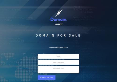 Domain Listing theme