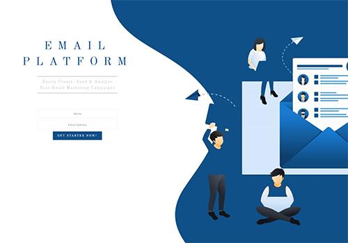 Email Platform theme
