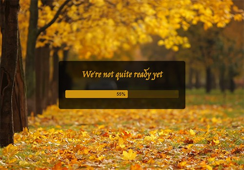 Fall (Video) theme