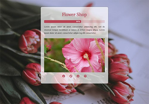 Flower Shop theme