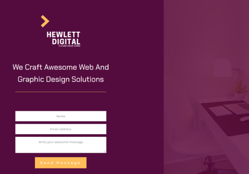 Hewlett Digital theme