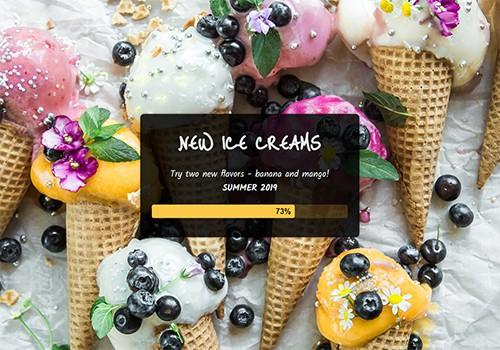 Ice Cream Shop theme