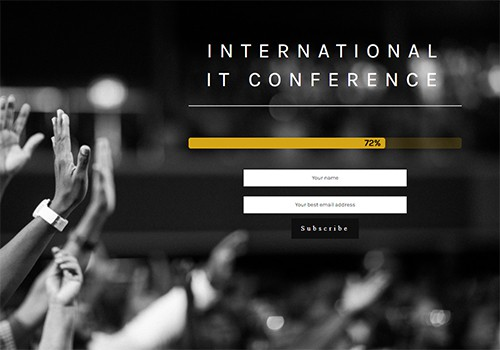 IT Conference theme
