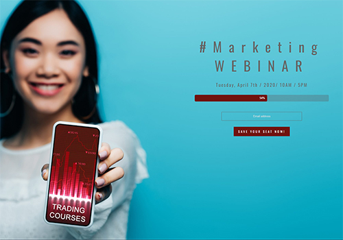 Marketing Webinar theme