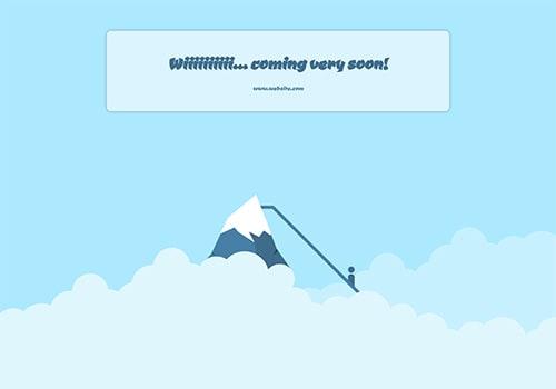 Mountain Slide theme
