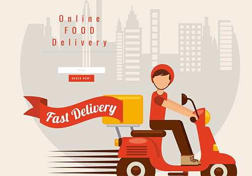Online Food Delivery theme