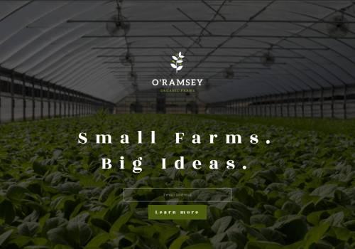 Organic Farming theme