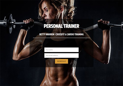 Personal Trainer theme