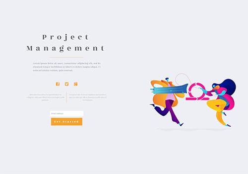 Project Management theme