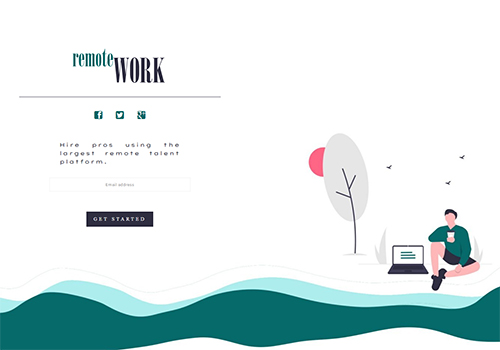 Remote Work theme