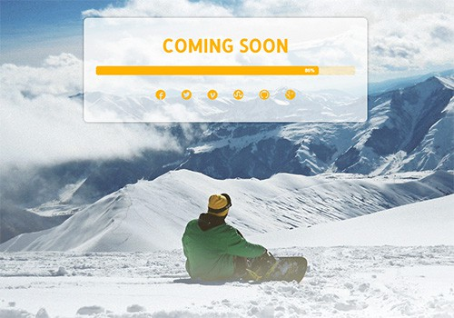 Snowboarding Blog theme