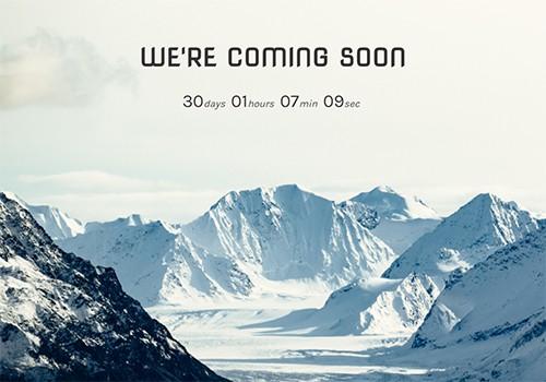 Snowy Mountain theme