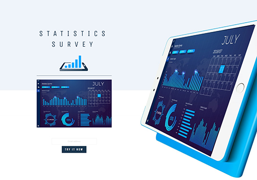 Statistics Survey theme