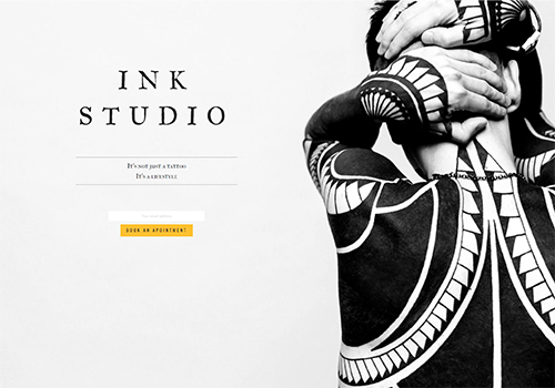 Tattoo Studio theme