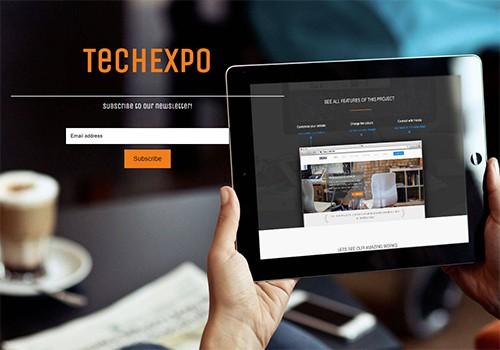 TechExpo theme