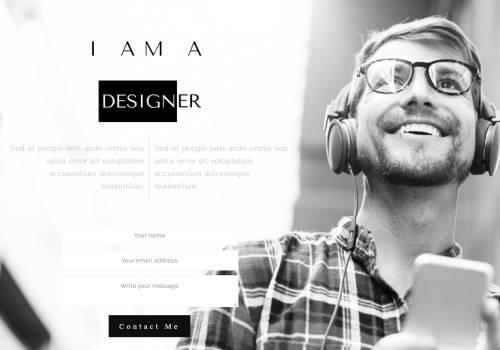 Web Design Portfolio theme