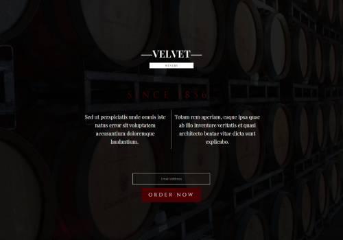 Winery theme