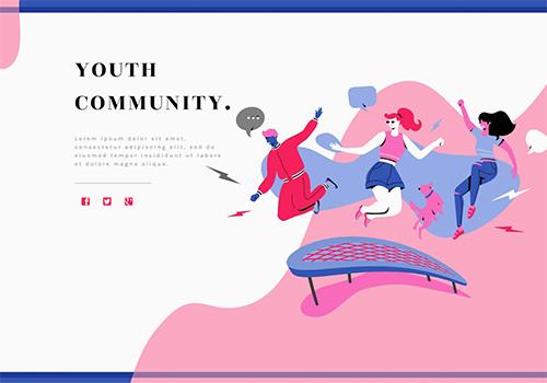 Youth Community theme